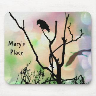 O corvo só mousepad