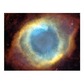O cosmos do universo stars o espaço cartão postal