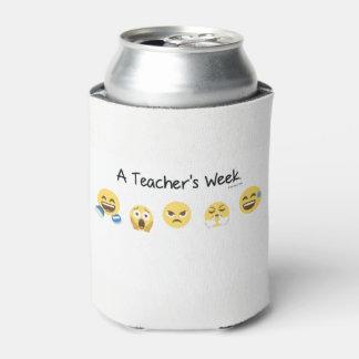 O costume da semana de um professor pode porta-lata