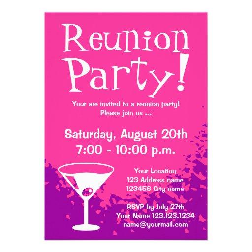 O costume dos convites de festas | da reunião conv