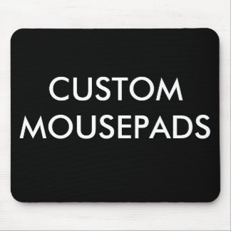 O costume personalizou o modelo vazio de Mousepad