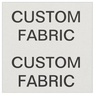 O costume personalizou o tecido de algodão