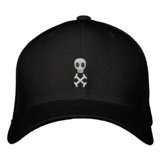 O crânio & os Crossbones bordaram o chapéu Boné Bordado
