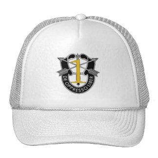 ø Crista do grupo das forças especiais Boné