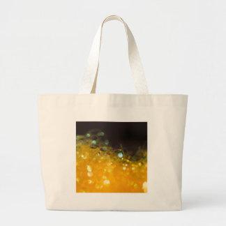 O cristal abstrato reflete o mel bolsas de lona