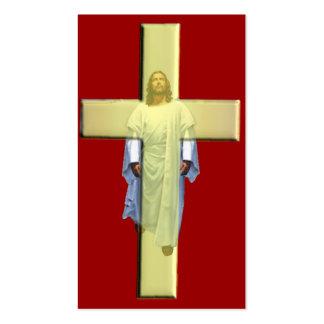 O cristo pagou por seus pecados modelo cartões de visita