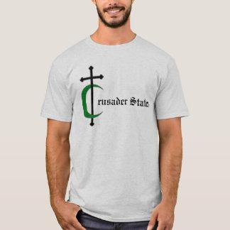 O cruzado indica a camisa