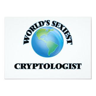 """O Cryptologist o mais """"sexy"""" do mundo Convite Personalizados"""