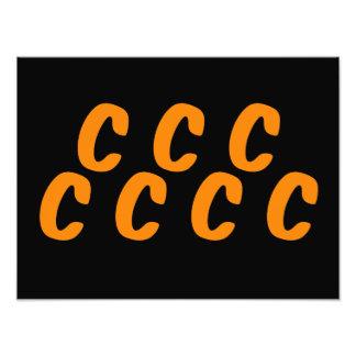 O Cs da laranja 7 espirituoso Impressão De Foto