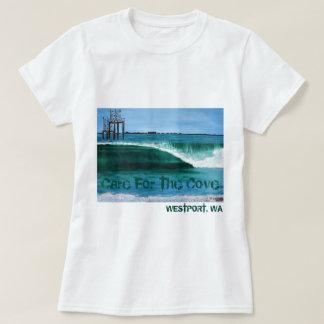 O cuidado das mulheres para o t-shirt da angra camiseta