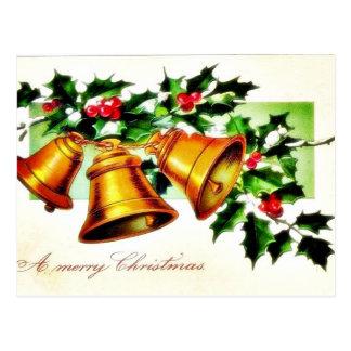 O cumprimento do Natal com um anjo joga a música Cartao Postal