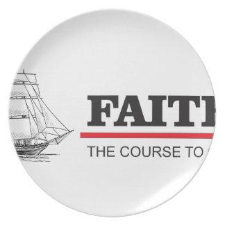 o curso ao deus é fé pratos de festas