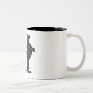 """O Dachshund """"comensal da casa é"""" caneca de café de"""