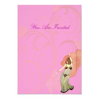 O dançarino convites personalizados