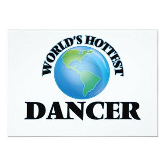 O dançarino o mais quente do mundo convites personalizado