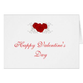 O Day-001 dos namorados felizes Cartão De Nota