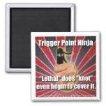 O ® de Ninja do ponto do disparador é letal Imãs