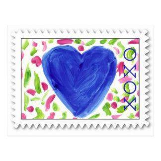 O ~ de XOXO abraça & beija o cartão dos namorados