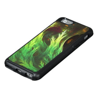 O DeepDream de uma alga de cores desvanecidas da