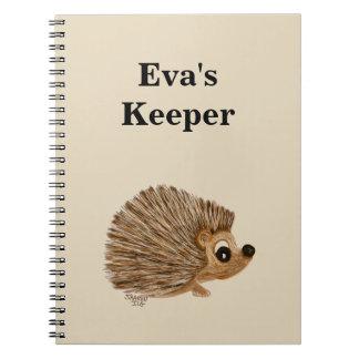 O depositário do caderno personaliza o, o nome ou