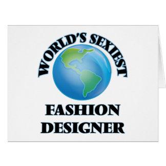 """O desenhador de moda o mais """"sexy"""" do mundo cartoes"""