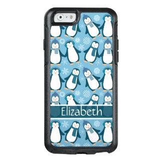 O design bonito dos pinguins do inverno adiciona o