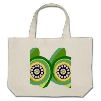 O design da arte do redemoinho do abstrato do prim bolsas para compras