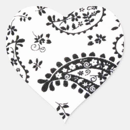 O design da arte modela os azulejos clássicos mode adesivos de corações