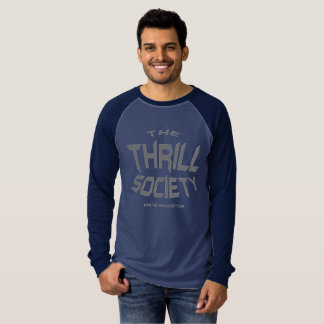 O design espremido logotipo da sociedade da emoção camiseta