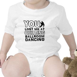 O design legal da dança de salão de baile fará um  tshirts