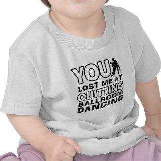 O design legal da dança de salão de baile fará um camiseta
