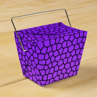 O design roxo do cobra remove a caixa