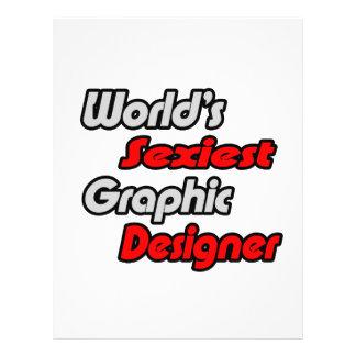 """O designer gráfico o mais """"sexy"""" do mundo modelo de panfletos"""