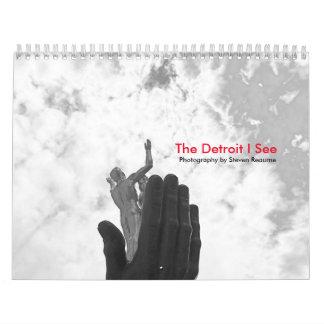 O Detroit eu ver o calendário 2017
