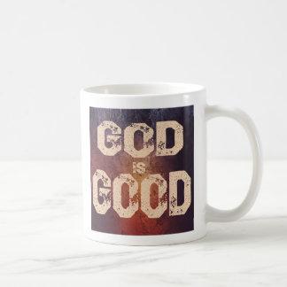 O deus do estilo do Grunge é boa caneca de café