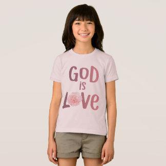 O deus é amor - espiritual e religioso - camisa