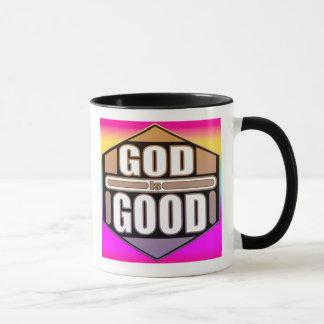 O deus é boa caneca de café