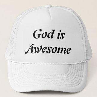 O deus é boné impressionante
