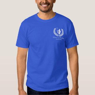 O deus e o louro do mar do cruzeiro da família camiseta