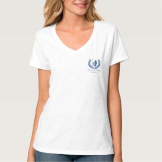 O deus e o louro gregos do cruzeiro da família camiseta