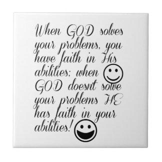 O deus resolve seu problema
