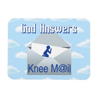 O deus responde ao ímã do presente do correio do