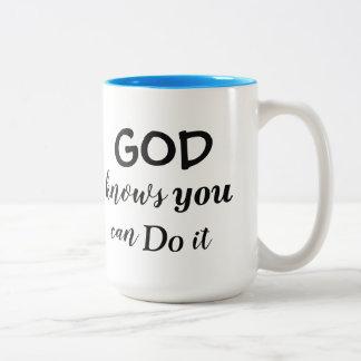 O deus sabe a caneca - Redeemed pelo amor