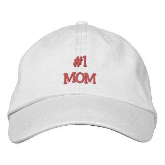 O dia/aniversário das Mamã-Mães #1 Boné Bordado