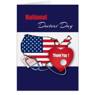 O Dia Cartão do design do nacional dos doutores