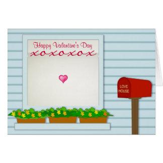 O Dia-Cartão-Qualquer um dos namorados felizes