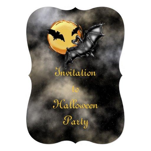 O Dia das Bruxas #2 Convite Personalizado