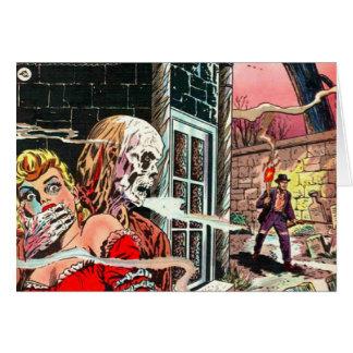 O Dia das Bruxas assombrou a banda desenhada Cartão Comemorativo