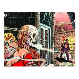 O Dia das Bruxas assombrou a banda desenhada Cartão Postal