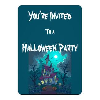 O Dia das Bruxas assombrou o convite da casa
